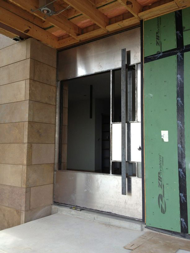 We did a trial run installing the pivot front door at City Skyline before sending it off to the paint booth. No it\u0027s not available out of a catalog. & Jon Luce | Skyline Pivot Door Pezcame.Com